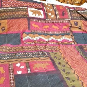 Mainstay Cabin  manly Room Quilt Full/Queen